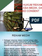 Aspek Hukum Rekam Medik, Dr Ginting,