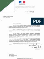 Réponse d'Alain Vidalies à Romain Colas