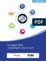 The Digital Office-improving the Way We Work