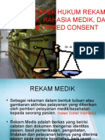ASPEK HUKUM REKAM MEDIK, dr Ginting,.ppt