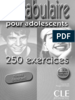 Vocabulaire Pour Adolesc Bie N Santinan Ph