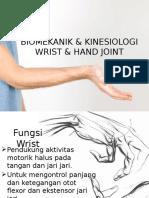 BM&KN Wrist & Hand Joint