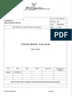 22.Toolbox Talks