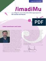 WimadiMu - Das Magazin - Ausgabe Herbst 2016