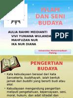 Islam & Seni Budaya Ppt 02 Mei 2015 (Aik 4)