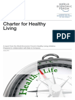 WEF Charter for Healthy Living 2013 (Bain, 2013)