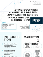 Marketing Doctrine