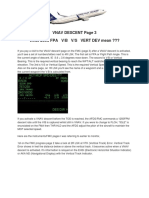VNAV Descent VBI and Vert Dev