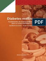 Diabetes Mellitus.fundamentos de La Terapia Dietética Para Su Control Metabólico