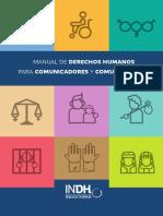 Manual de Derechos Humanos Para Comunicadores y Comunicadoras 2016