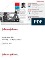 JNJ Earnings Presentation 3Q2016