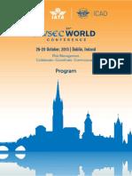 AVSEC World 2015 Conference Programme