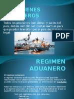 REGIMENES ADUANEROS