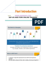 SAP Fiori Introduction