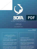 Brochure SOFA2016