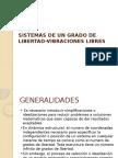 Sistemas de Un Grado de Libertad-Vibraciones Libres