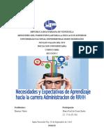Identificacion de Necesidades de Aprendizaje Hacia La Administracion de Rrhh