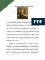.Historia de La Pasteurización.