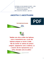 2) Amostra e Amostragem