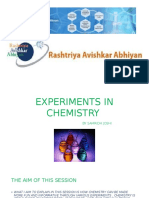 Experiments in Chemistry