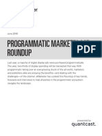 EMarketer Programmatic Marketplace Roundup