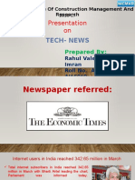 Newspaper Tech
