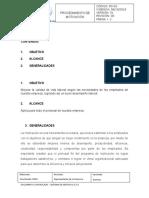 PD-05 - Procedimiento de Motivación
