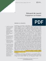 BRENEZ, Nicole. Edouard de Laurot - Engagement as Prolepsis.pdf