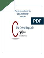 Gyan Capsule 4 - Case Frameworks Session 2 & 3