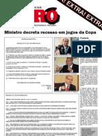 Jornal-mural Zero à Esquerda Especial - Recesso na Copa do Mundo (9/6/2010)