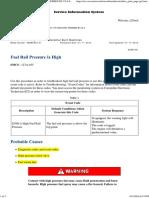 High Rail Pressure