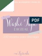 Guia Modelos Washi Tape Digital