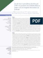 Fatores de risco e prevalência da infecção pelo HPV em pacientes de Unidades Básicas de Saúde e de um Hospital Universitário do Sul do Brasil