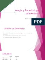 Microbiología y Parasitología Alimentaria