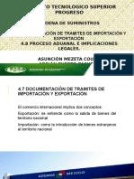 Proceso Aduanero y Documentos para Exportar/Importar