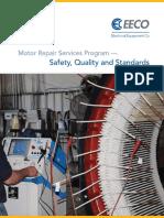 EECO Motor Repair Center Services Program Standards