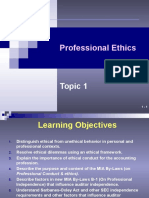 Topic 1 - Code of Ethics