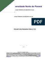 Projeto Do Tcc 7º Período Ivane Pronto 2015modelo