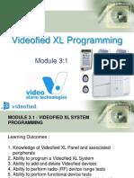 Module 3.1 - Videofied XL System Programming