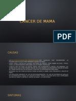 Cancer de Mama- Baltazar Martinez