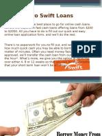 Swift Loans