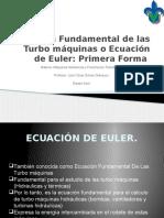 Ecuación Fundamental de Las Turbo Máquinas o Ecuación