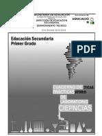 Cuaderno de Practicas de Biologia Ciclo Escolar 2016 - 2017