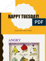 angry marshmallows