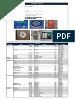 Air Filter Pmc Catalogo