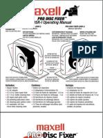 Maxell Pro Disc Fixer