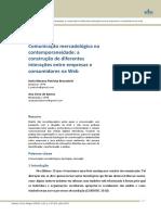 Comunicação mercadológica na contemporaneidade