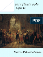 PORTADA - Sonata Para Flauta Opus 13