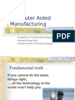 Computer Aided Manufacturing (1)