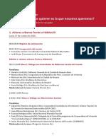 Seminario Agenda